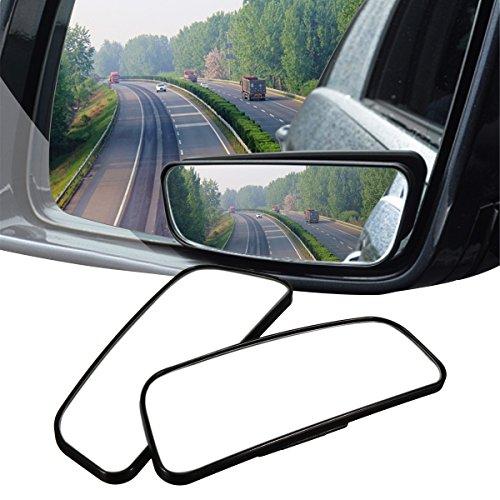Audew 2xTotwinkel Seite Spiegel Toter Winkel Spiegel 360 Weitwinkel Blindspiegel Test
