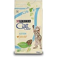 Cat Chow Purina Kitten avec NaturiumTM - Riche en Poulet - 1,5 KG - Croquettes pour Chaton