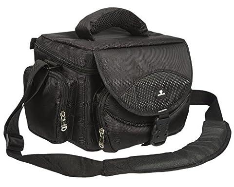 Case4Life Grand/Large Série Pro Sac Sacoche pour Reflex Camera pour Nikon SLR D Series - D3100, D3200, D3300, D4, D40, D5, D500, D5100, D5200, D5300, D5500, D610, D700, D750, D7100, D7200, D800, D810, D810A