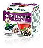 Bad Heilbrunner Heißer Holunder mit Aronia, 15er Pyramidenbeutel, 1er Pack