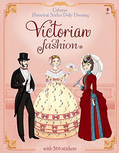 Sticker Dolly Dressing Historical Victorian Fashion (Historical Sticker Dolly Dressing) por Sam Lake