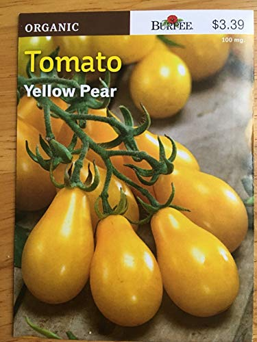 Generic SAMEN: Kaufen Sie 10 Packs (Bulk-Rate): New 2018/19 Pee Bio-Tomaten Yellow Pear Huge Sags 25-50% !!! + Free SH