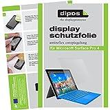 dipos I 2X Schutzfolie matt passend für Microsoft Surface Pro 4 Folie Bildschirmschutzfolie