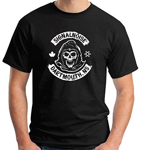T-Shirtshock - T-shirt TB0077 signalnoise dartmouth, Größe XXL