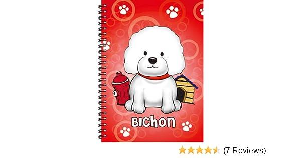 Bichon Frise 3D Notebook