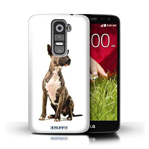 Kobalt® Imprimé Etui / Coque pour LG G2 Mini/D620 / Husky/Esquimau conception / Série Chiens Bull Terrier