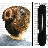 jxy Esponja mágica de la esponja de la pinza de pelo de forma l 'anillo la Ciambella