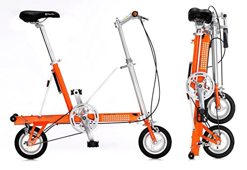 Vélo pliant CarryMe SD (Sans Engrenages) Orange
