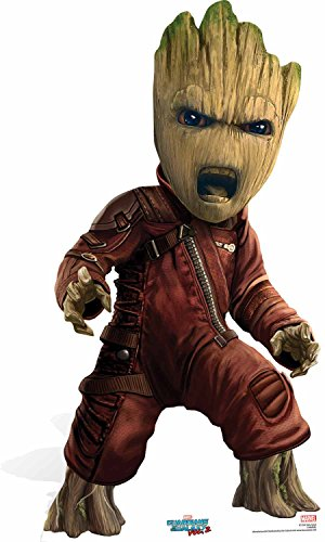 Guardians of the Galaxy Marvel Pappaufsteller Baby Groot Guardian, mehrfarbig