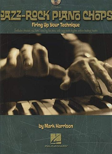 Jazz-rock piano chops clavier+CD