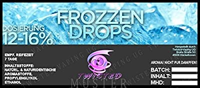 Twisted Aroma Frozzen Drops von Twisted Vaping