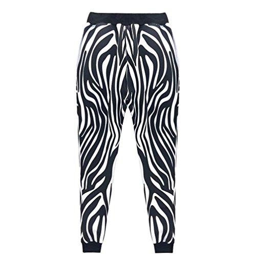 Paolian Pantalons d'impression 3D Star pour Hommes, Pantalons Confortables à la Mode, Essentiels de la Mode