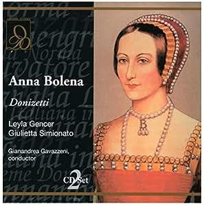 Donizetti : Anna Bolena. Gencer, Simionato, Gavazzeni.