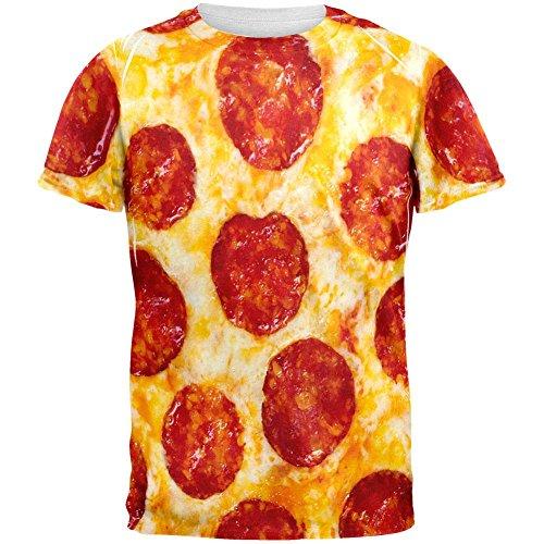 Peperoni Pizza Kostüm aller Erwachsenen (Kostüme Erwachsene Pizza Für)
