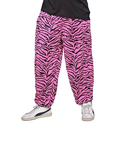 HOSE - 80er JAHRE - pink/schwarz 54 (XL), Dirty Dancing Musical Fever Jogginghose (Herren Dirty Halloween Kostüme)