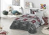BOUTI + Cojín decorativo PEYTON  (200X270) cama de 105 (ANTILO)