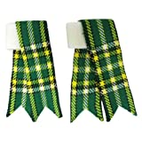 Tartanista - Cintas para medias de niño para kilt escocés - Irish