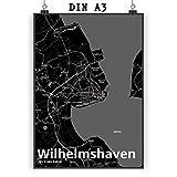 Mr. & Mrs. Panda Poster DIN A3 Stadt Wilhelmshaven Stadt