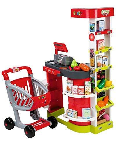 Preisvergleich Produktbild Smoby 350204 - Cityshop Kaufladen mit Einkaufswagen