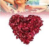 Five Bee 200 g Natürliche Deluxe getrocknete rote Rosenblütenblätter, echte Blütenblätter für Badefüße, Badewanne, Hochzeit, Konfetti, Heimwerker-Zubehör