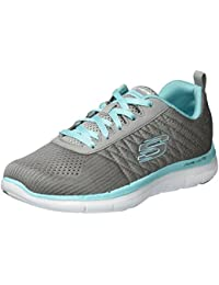 Skechers Flex Appeal 2.0 Break Free, Baskets Basses Femme