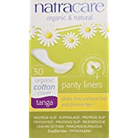 Natracare Natural Panty Liners, Tanga, 30 Count Boxes by Natracare