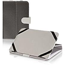 Libro Tablet PC Ebook Reader Funda para portatil Case Blanco con Función Atril, apta para SONY PRS-T3Reader