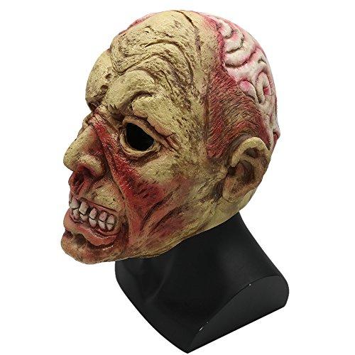 Neue Halloween-Maske Erwachsener Terrorist Bewohner Böse Zombie Leiche - Neue Halloween Masken