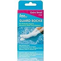Aqua Chaussettes de natation pour protection contre les verrues