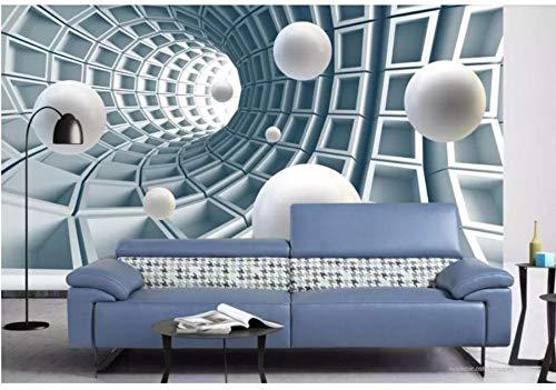 Kuamai Benutzerdefinierte 3D Mural Tapete Stil Ball Hintergrund Tapeten Wohnkultur Wohnzimmer Fototapete-350X250cm