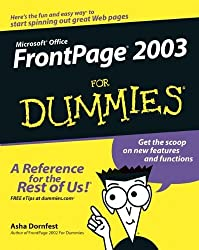 Front Page 2003 For Dummies by Asha Dornfest (2003-10-17)