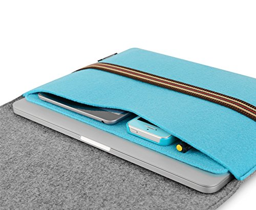 YiJee ShockProof Sleeve Custodia Borsa Sleeve Laptop Caso Protettiva 11 Pollice Blu