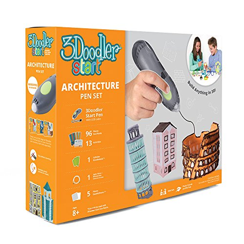 3Doodler Start Architecture Themed 3D Pen Set for Kids - 3