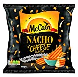 McCain Foods Nacho Cheese Ridge Cut Wedges, 600g (Frozen)