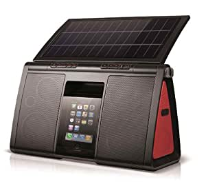 Soulra XL - Solar-Powered 8 Speaker Sound System for iPod and iPhone