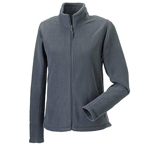 Russell Womens Full Zip Outdoor Fleece Jackets Convoy Grey