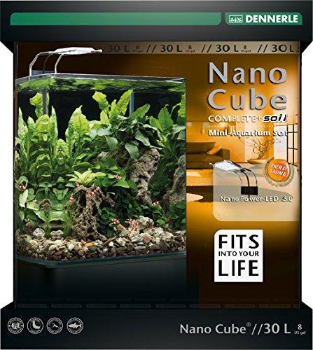 Dennerle 5586 NanoCube Complete+ SOIL 30L - Power LED 5.0 NEU