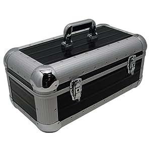 Zomo Flight-case pour 250 Vinyles 45T-7'' Noir