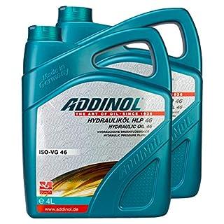 2X Addinol Hydrauliköl Hydraulic Oil Fluid Hlp 46 4L 73200425
