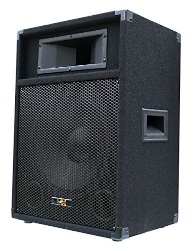 """E-Lektron PW12A DJ PA Aktivlautsprecher Aktivbox mit 12\""""/30cm Subwoofer 600W Spitze"""
