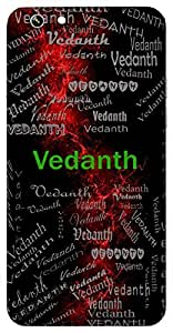 Vedanth (The One Who Has Read The Vedas) Name & Sign Printed All over customize & Personalized!! Protective back cover for your Smart Phone : Moto X-STYLE