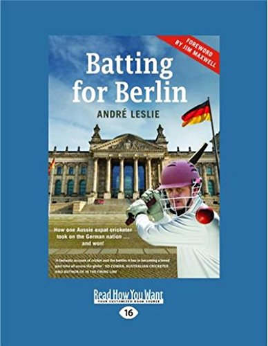 Batting for Berlin (Large Print 16pt)