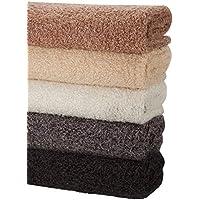 Neotrims en laine de mouton doux Polaire Look, DE deux Tonique chiné Tissu en 4couleurs naturelles, parfait pour photographie toiles de fond ou de couture Crafts, luxueuse, poignée souple, idéal pour les bébés. au mètre, noir, 2 Metres