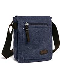 E-Bestar Retro Mens Small Canvas Briefcase Casual Cross Body Messenger  Shoulder Bag Everyday Satchel Bags Laptop Sold By  Supaprice Uganda d48b74d09cd71