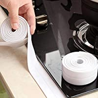 Cyrox White PVC Waterproof Self-Adhesive Tape for Kitchen Sink Corner | Wall Trimmer Protection Decoration Kitchen Sink…
