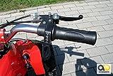 Mini Elektro Kinder Racer rot/schwarz - 9