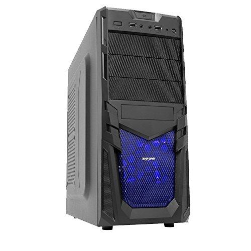 Fierce ULTRA RAPIDE Dual Couer La Maison Gaming PC (Ordinateur De Jeu) - 3,9GHz AMD A-Series A4-6300 - Bureau, Accueil, ordinateur de la famille - (WIFI, 8Go RAM, 1To Disque Dur, R7 Series Graphique) - 220136