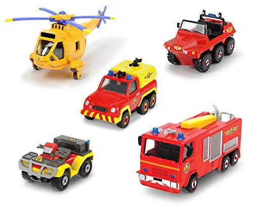 feuerwehrmann sam set Dickie Toys 203094002 Feuerwehrmann Figur, Mehrfarbig