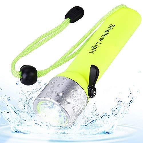 Tauchen Taschenlampe 2000 Lm LED Unterwasser 60M Taschenlampe für Scuba Schnorcheln