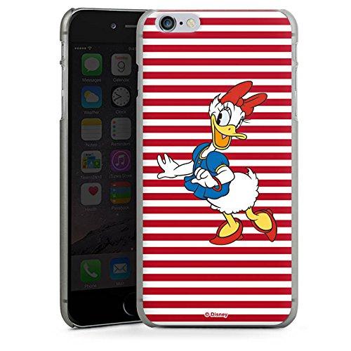 Apple iPhone X Silikon Hülle Case Schutzhülle Disney Daisy Duck Fanartikel Merchandise Hard Case anthrazit-klar